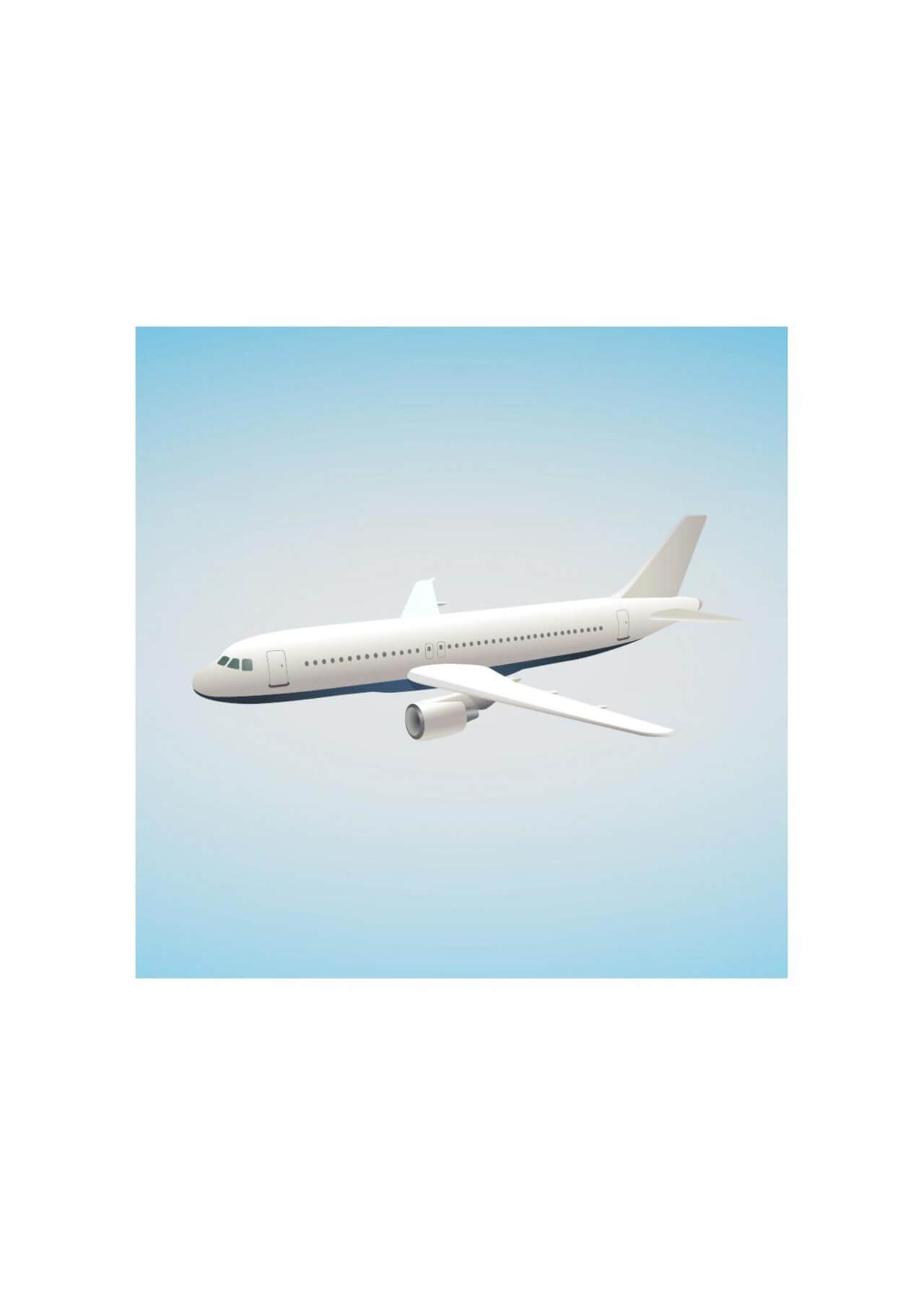"Free vector ""Airbus illustration"""