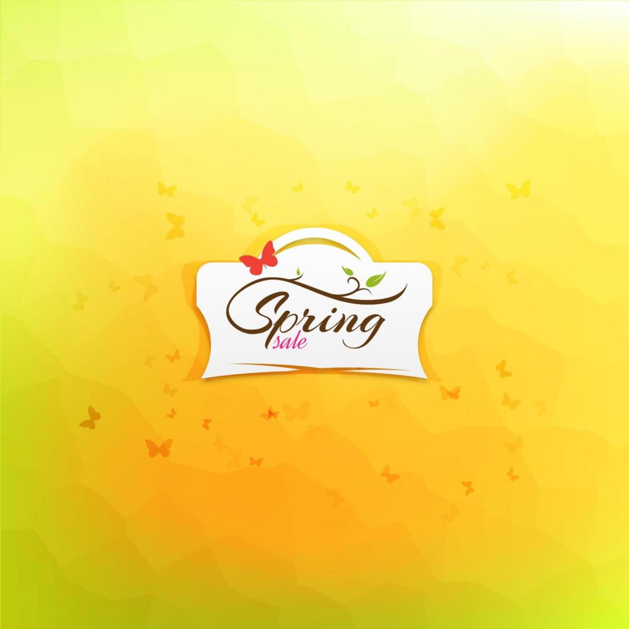 "Free vector ""Spring Sale Illustration"""