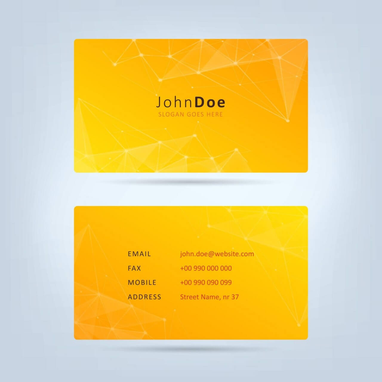 "Free vector ""Technology Business Card"""