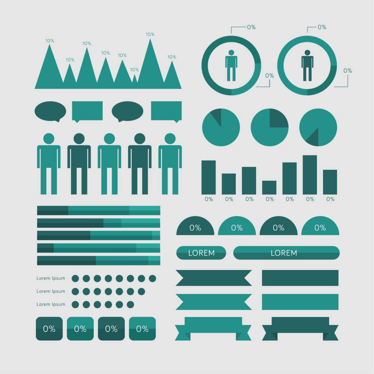 "Free vector ""Infographic Elements"""