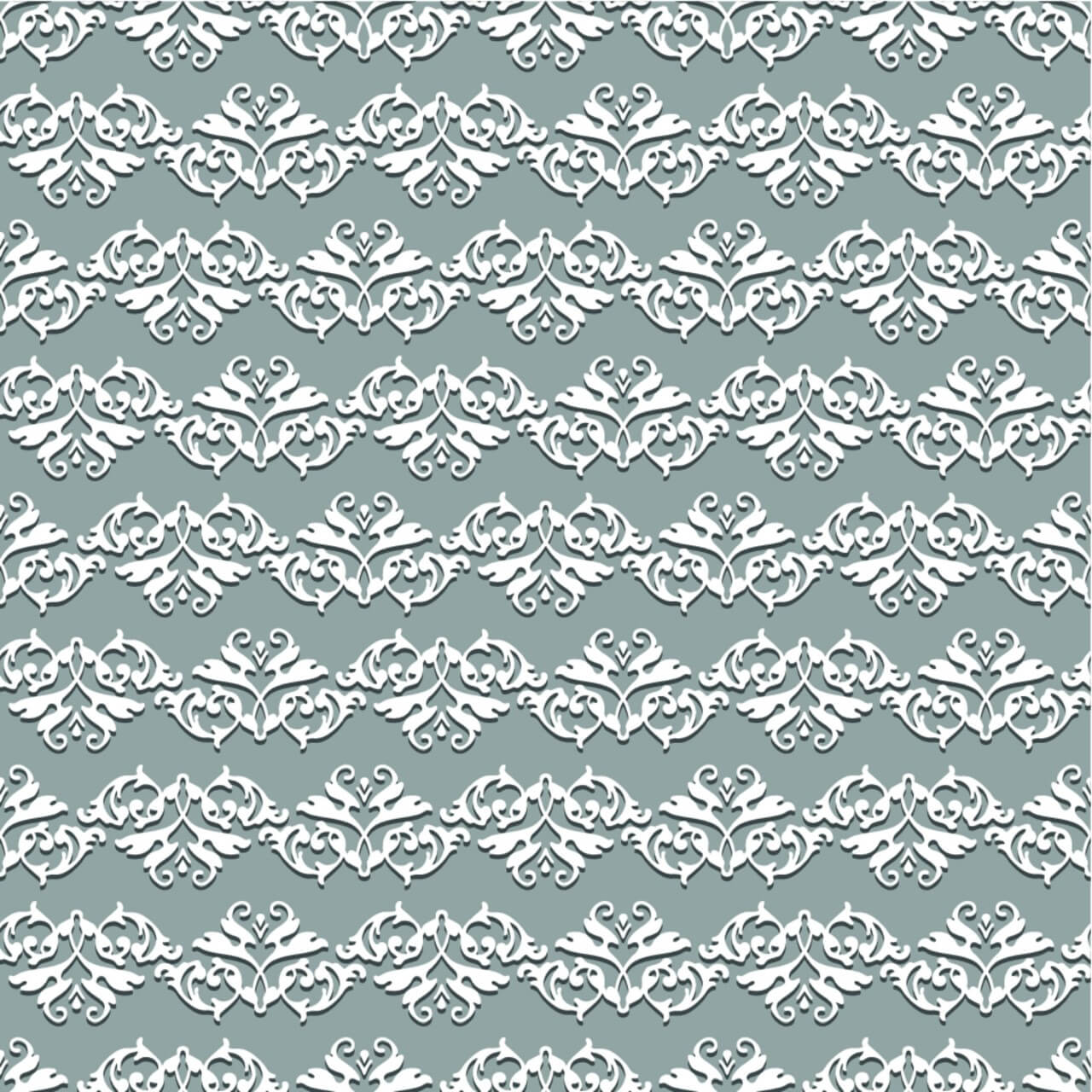 """Free vector """"Damask seamless floral pattern"""""""