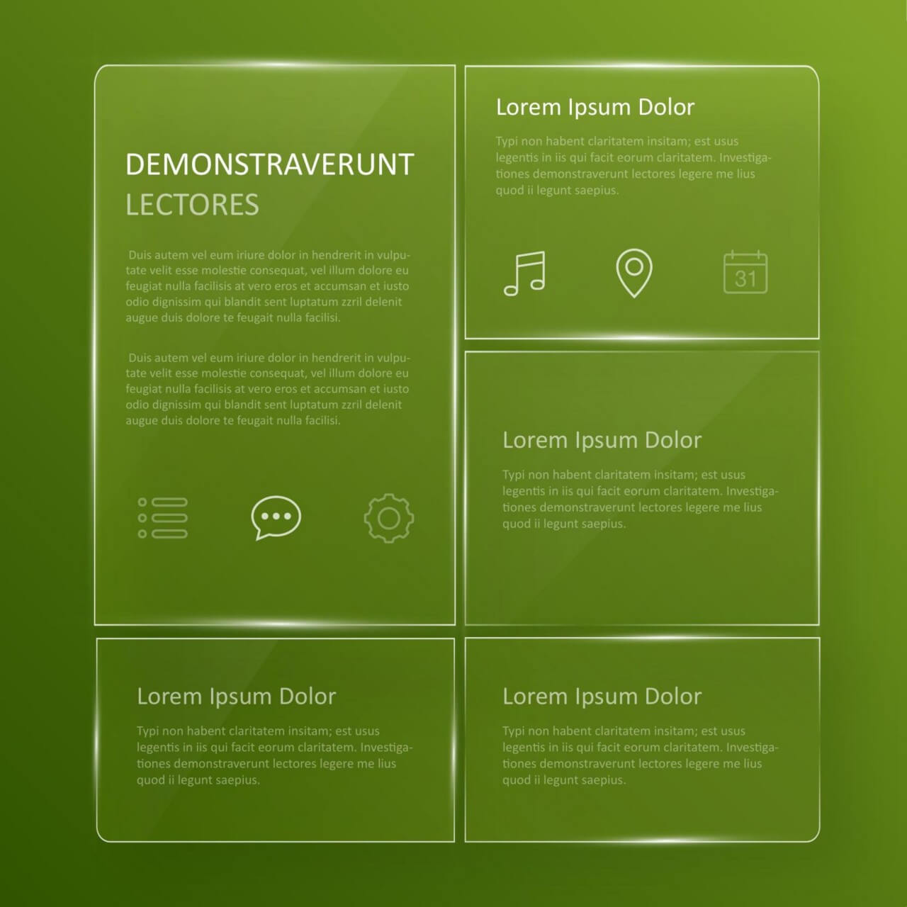 "Free vector ""Transparent, glassy user interface """