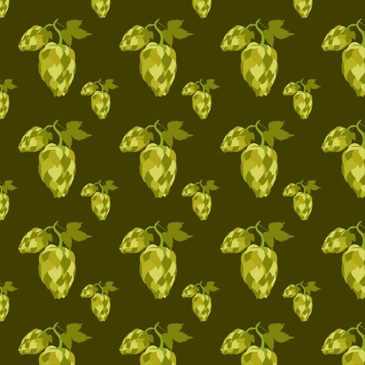 "Free vector ""Hop seamless pattern"""