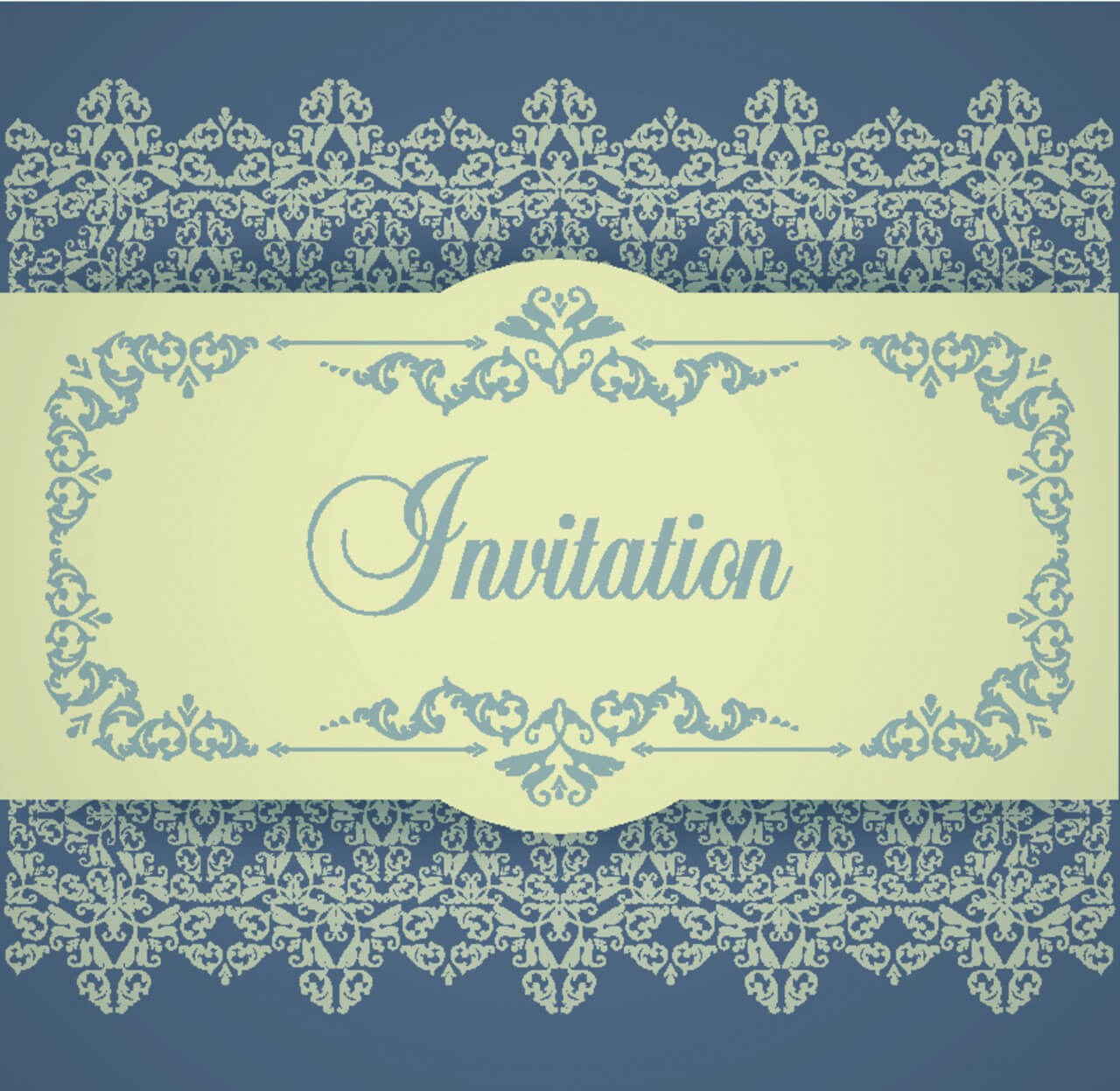 "Free vector ""Design template in vintage style"""