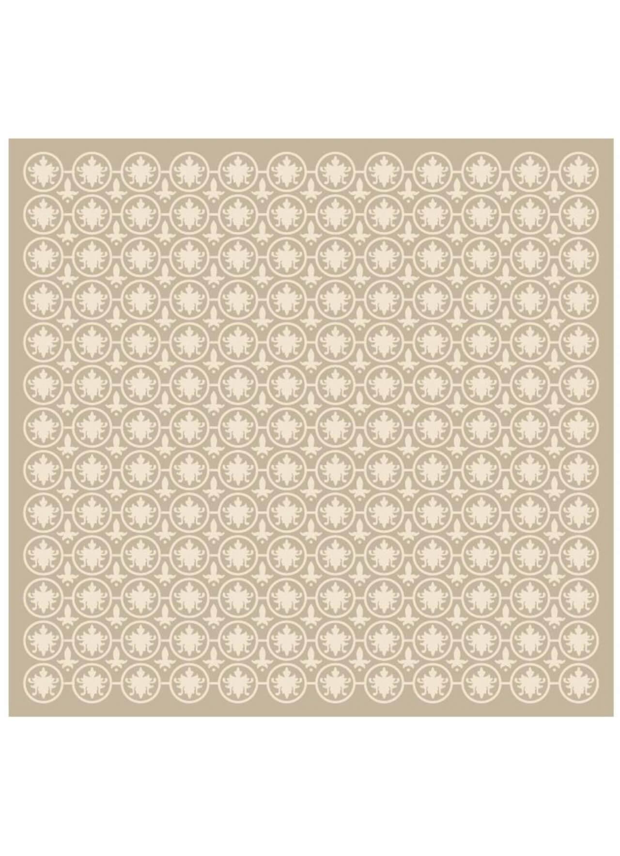 "Free vector ""Vintage Ornate Low Contrast Cream Pattern"""