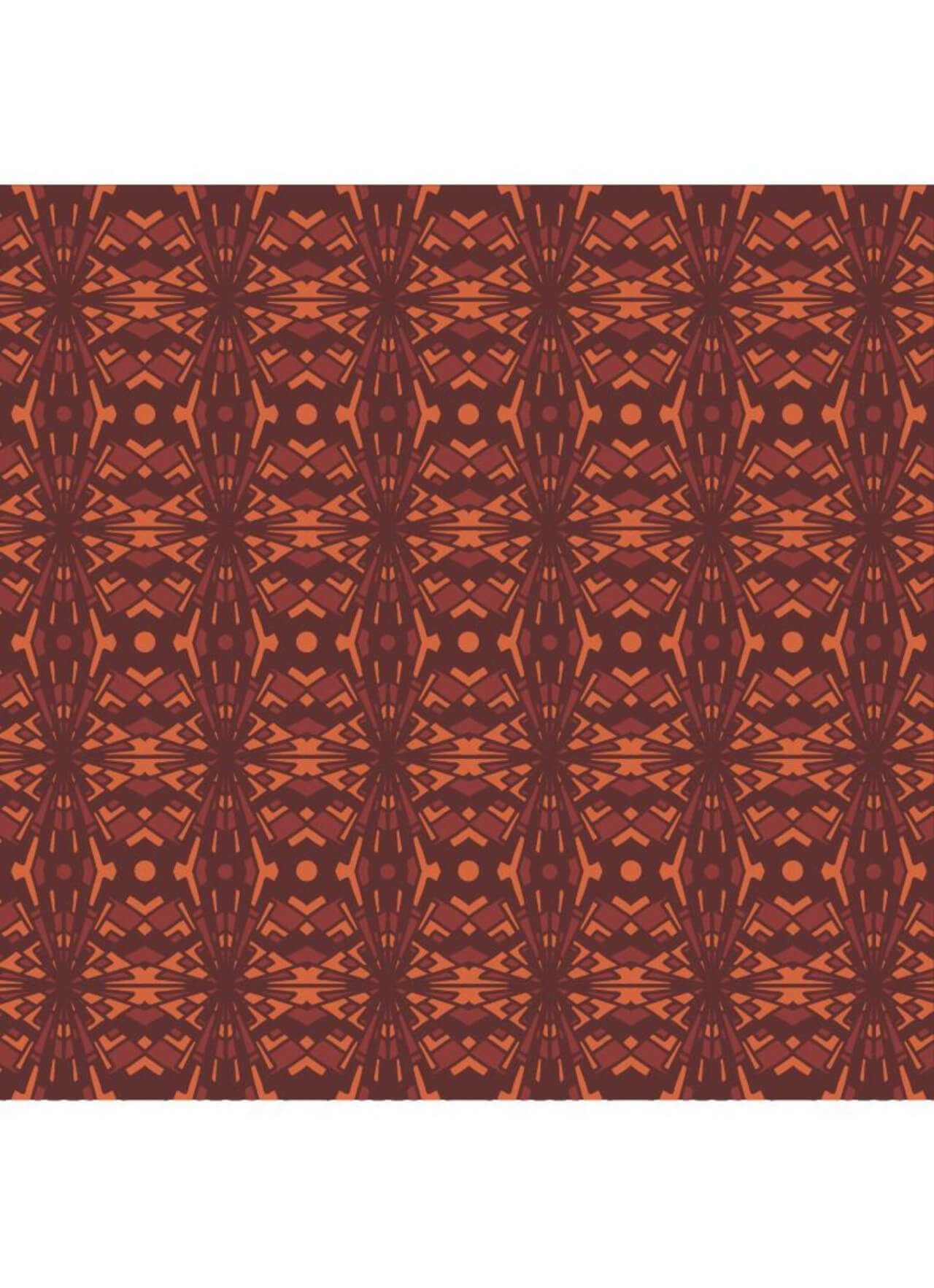 """Free vector """"Abstrackt High Contrast Warm Pattern"""""""