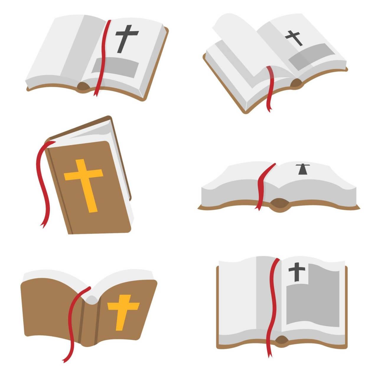 """Free vector """"Bible Book Vector"""""""