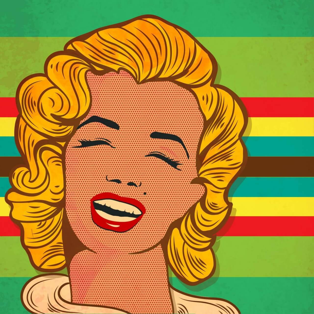 "Free vector ""Retro woman """