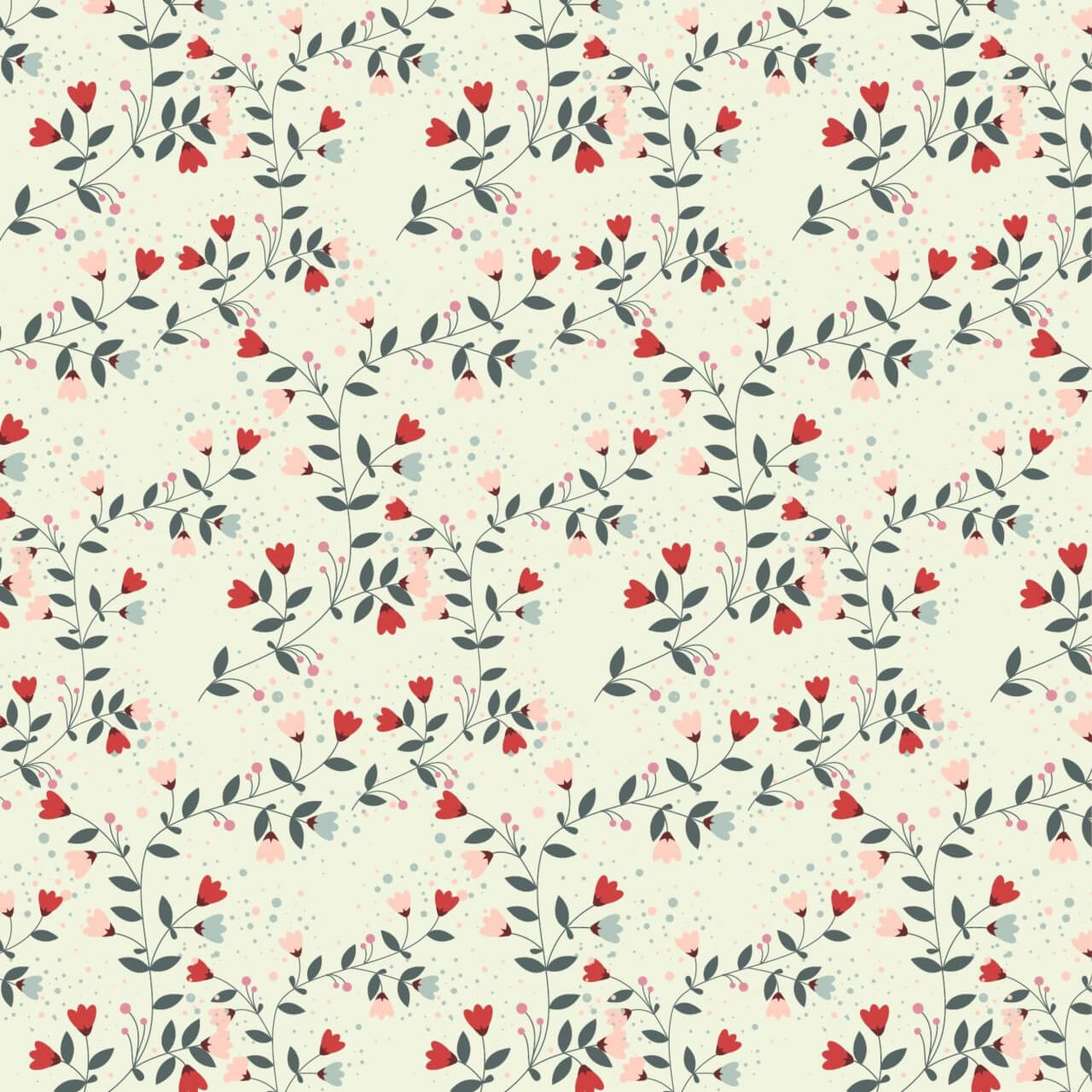 "Free vector ""Flower pattern"""