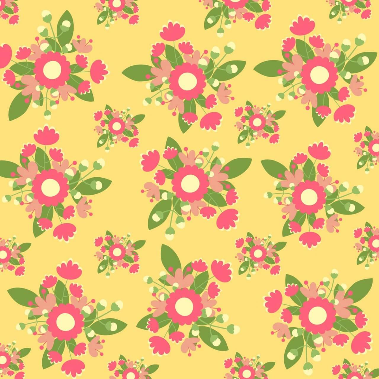 "Free vector ""Hand draw seamless pattern"""