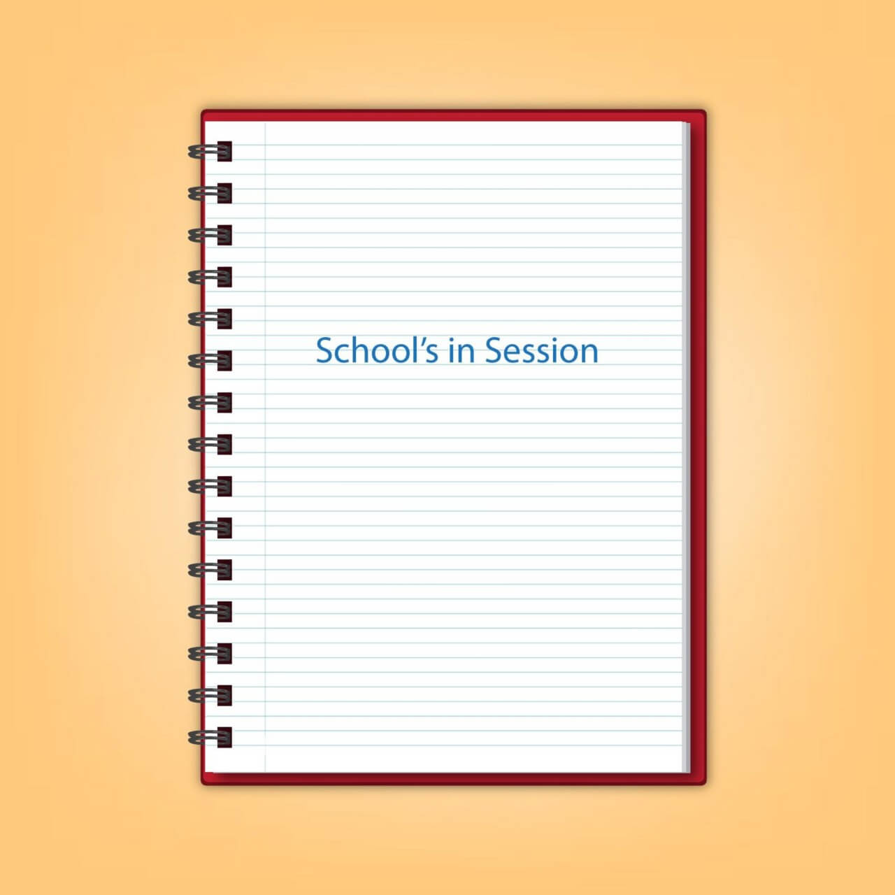 "Free vector ""Realistic Spiral Notebook"""