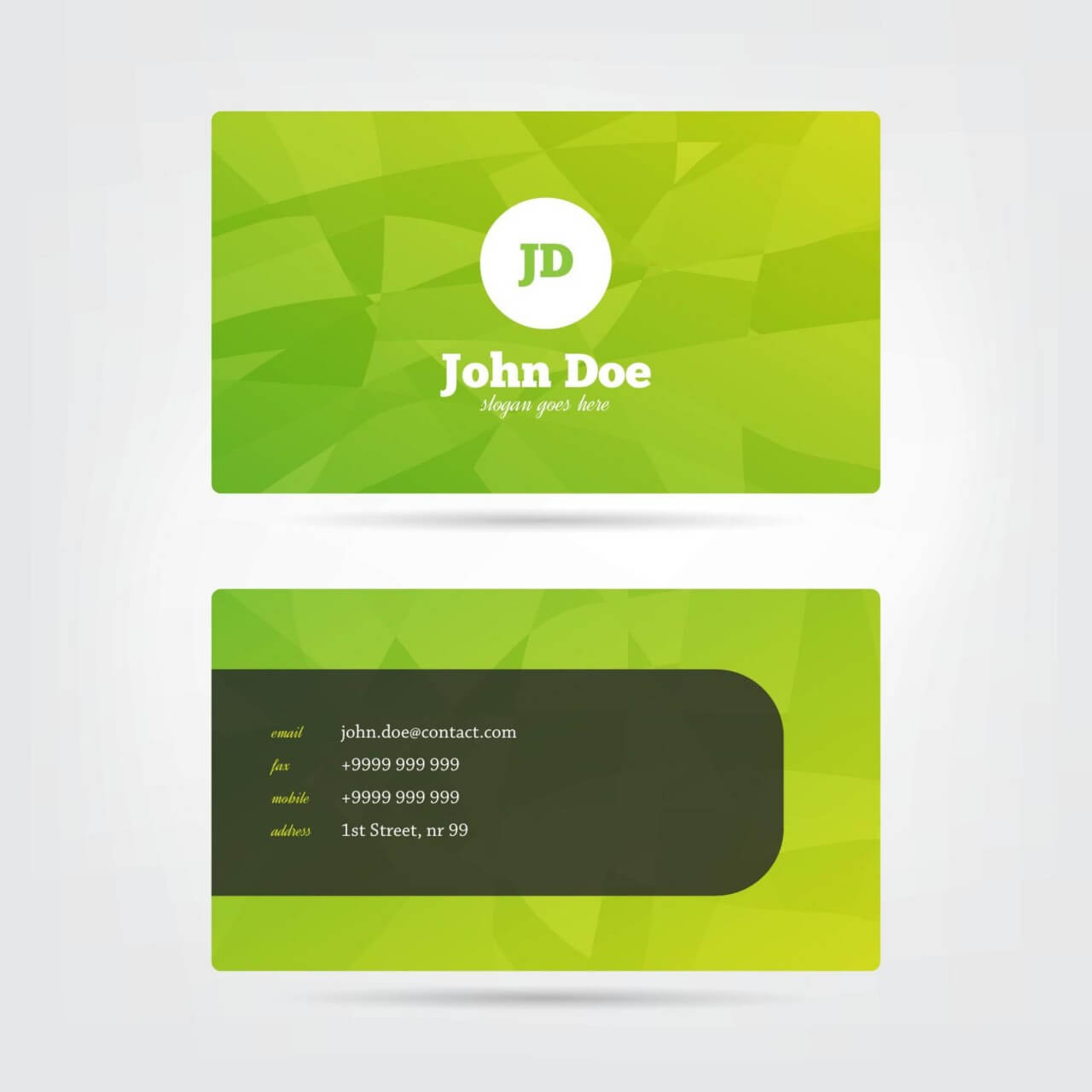 "Free vector ""Modern Business Card"""