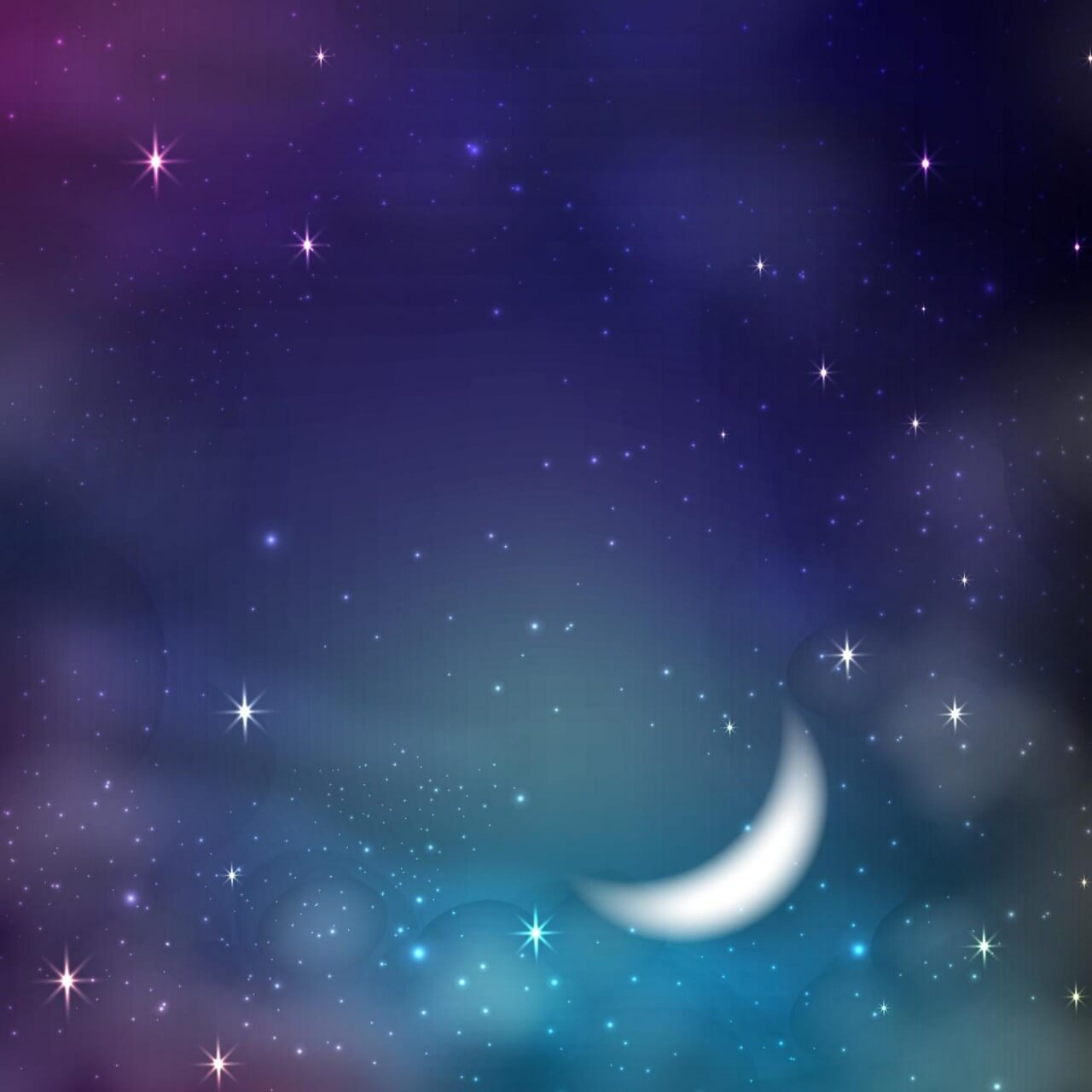 """Free vector """"Starry sky background"""""""