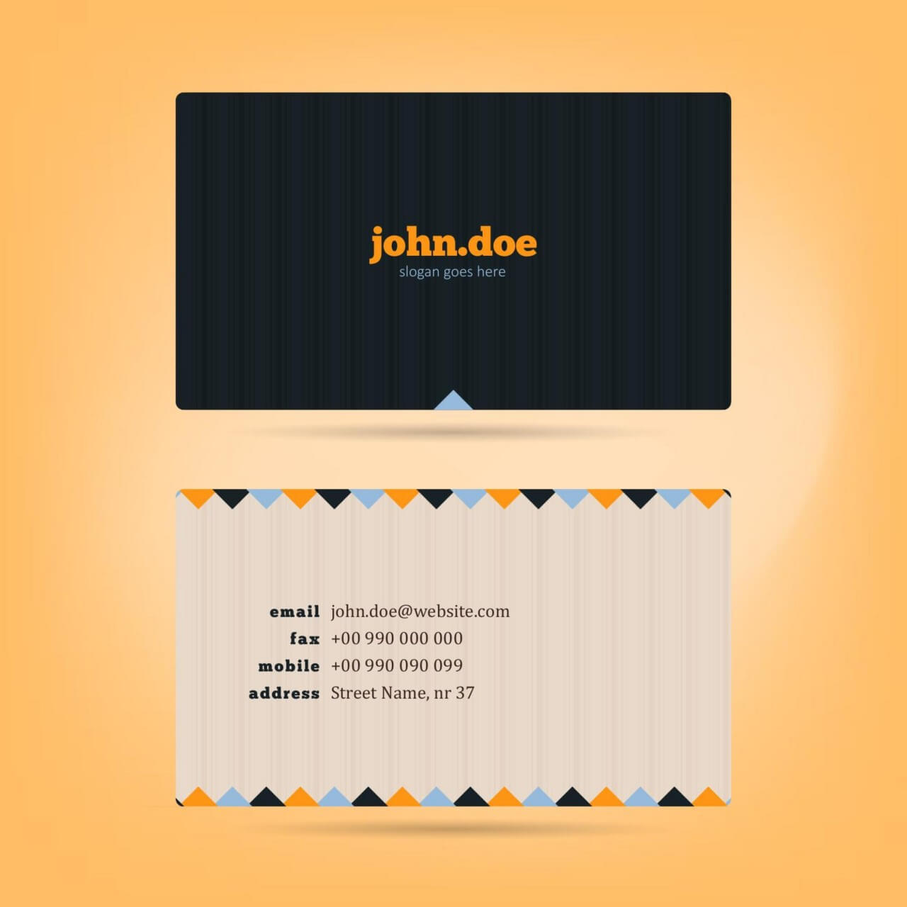 "Free vector ""Vector Business Card"""