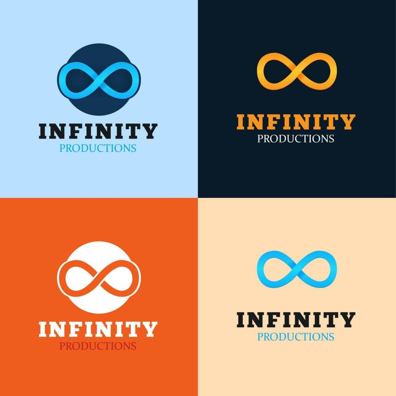 "Free vector ""Infinity Logo"""