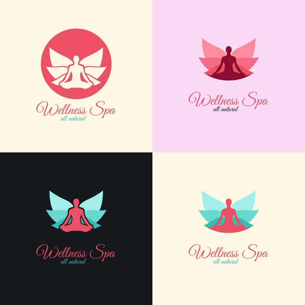 "Free vector ""Wellness Spa Logo"""
