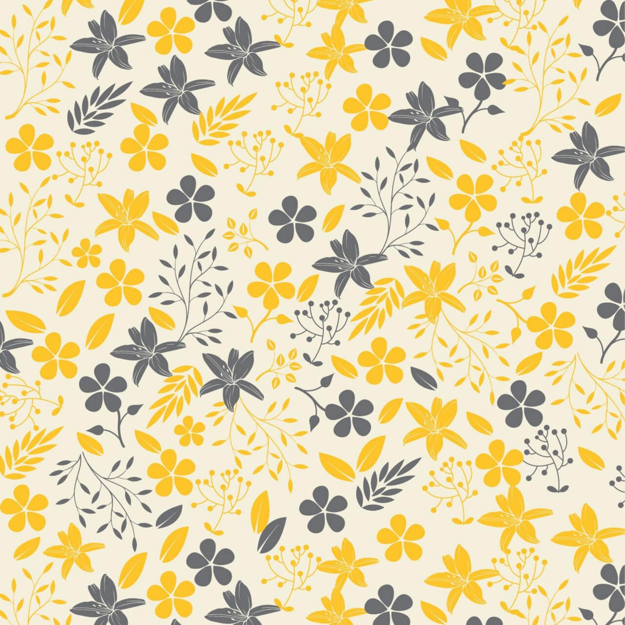 """Free vector """"Floral pattern """""""