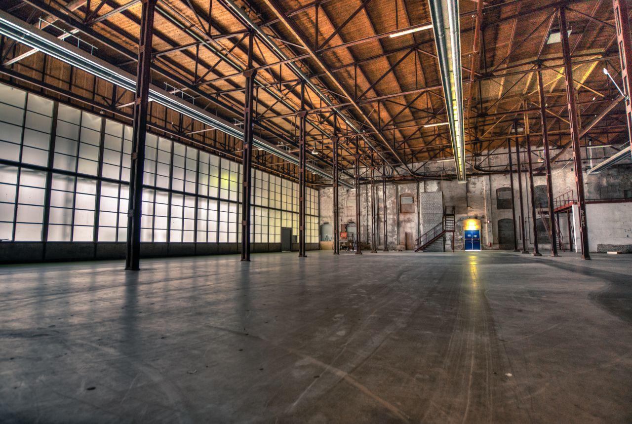 "Free photo ""Factory hall"""