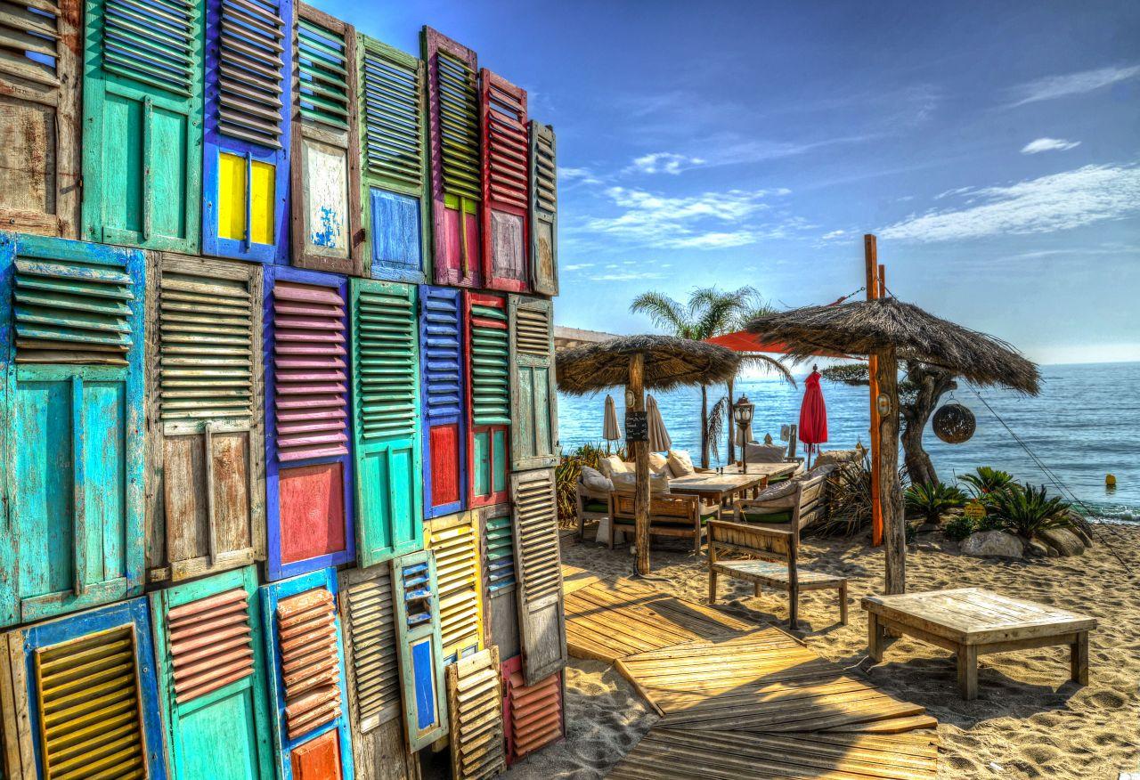 "Free photo ""Beach lounge"""
