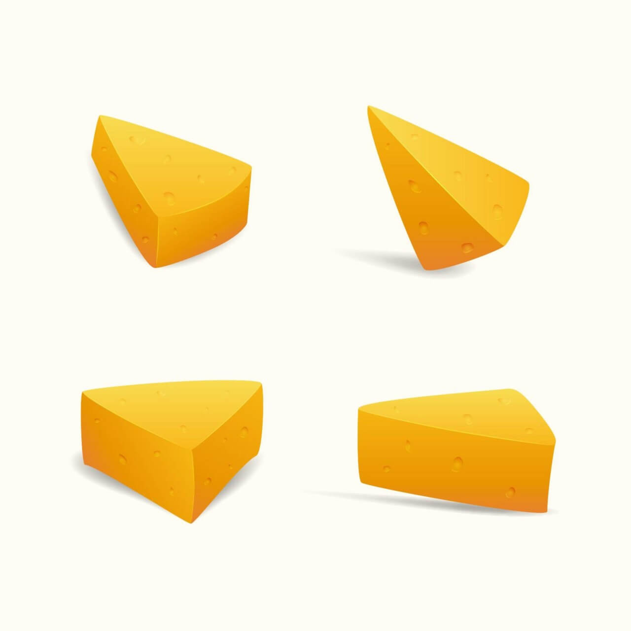 "Free vector ""Swiss Cheese Slices"""