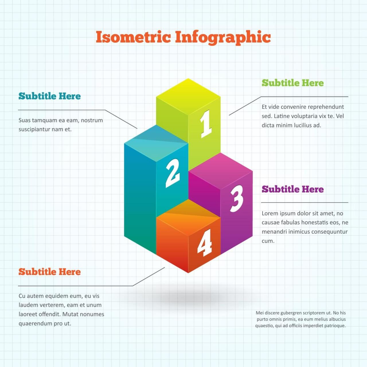 "Free vector ""Isometric Infographic Element"""