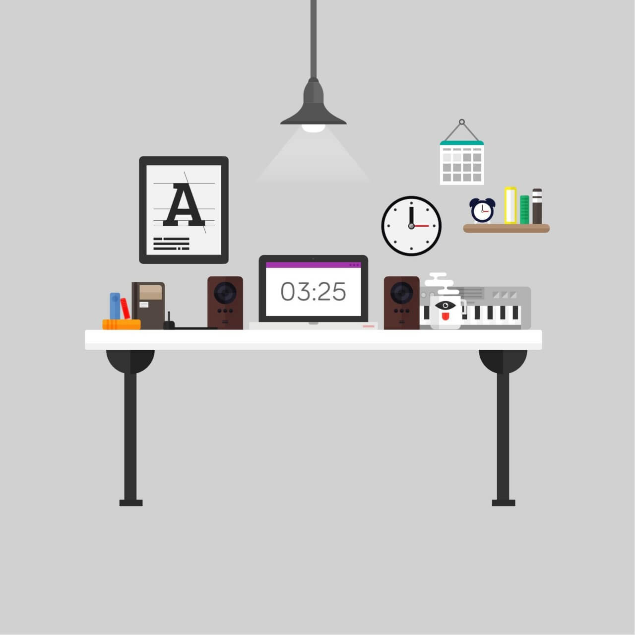 "Free vector ""Modern Office"""
