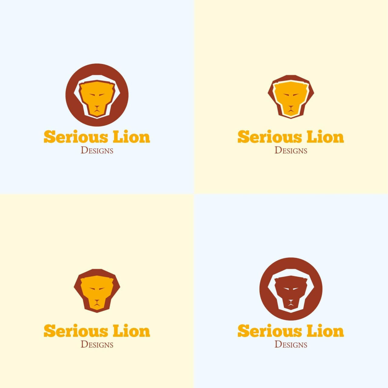 "Free vector ""Lion Head Vector Logo"""