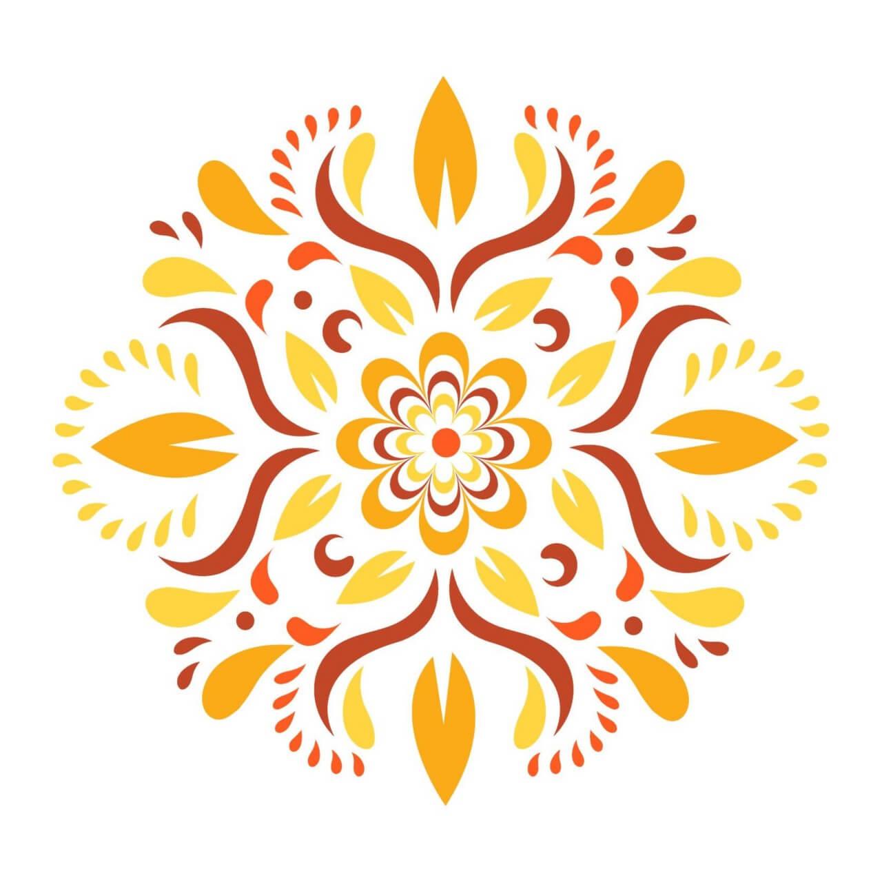 "Free vector ""Floral Ornament Vector"""