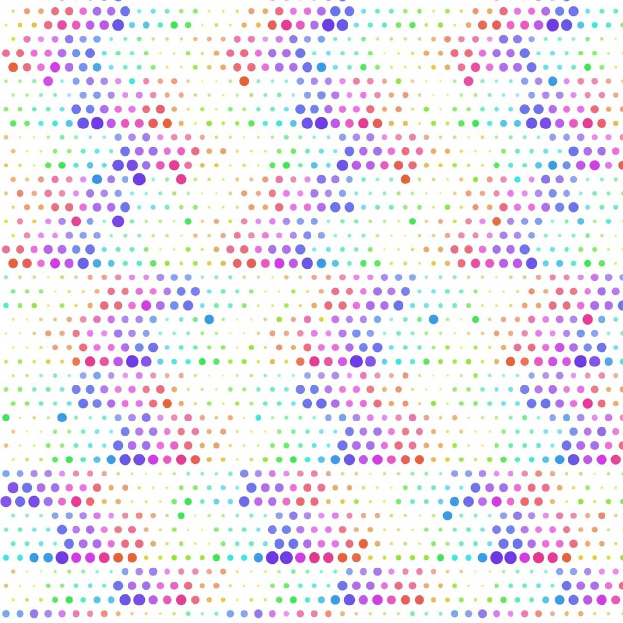"""Free vector """"Abstract illustration with dots"""""""
