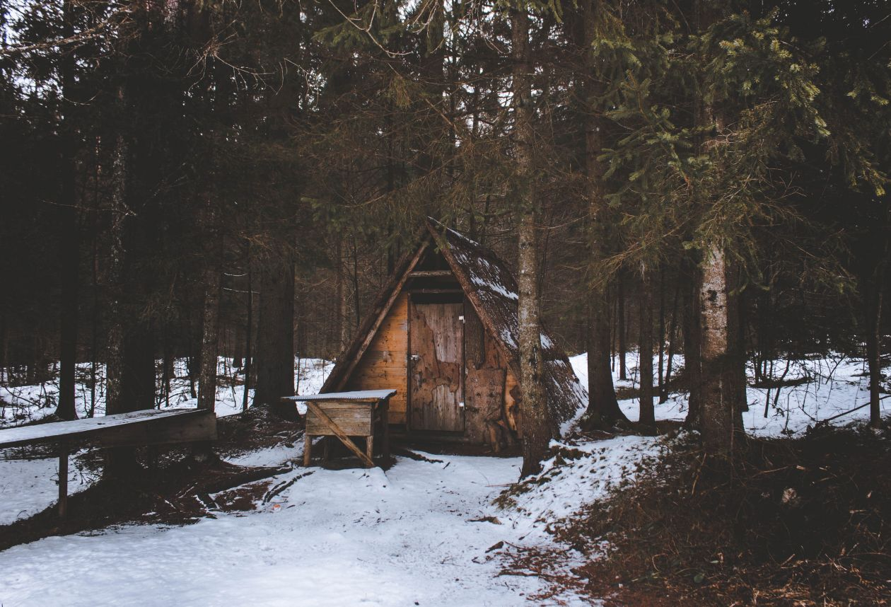 """Free photo """"Cabin"""" by Alex Klopcic"""