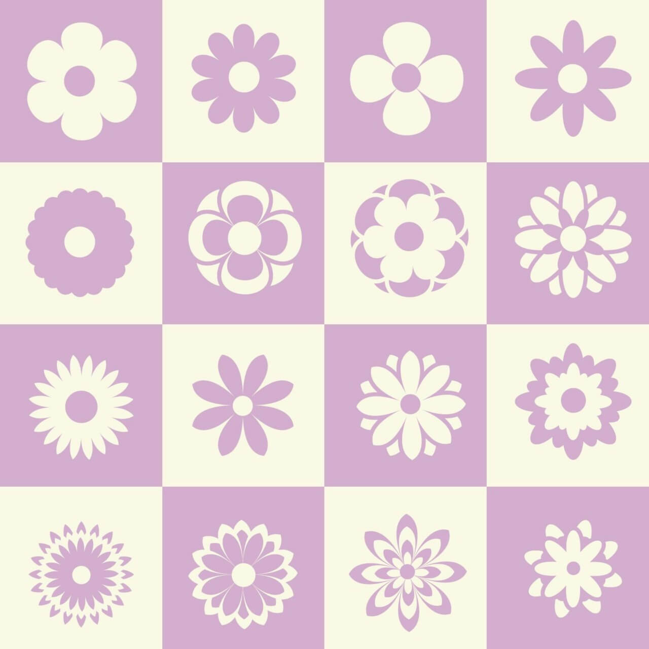 "Free vector ""Flower illustration with metro background"""