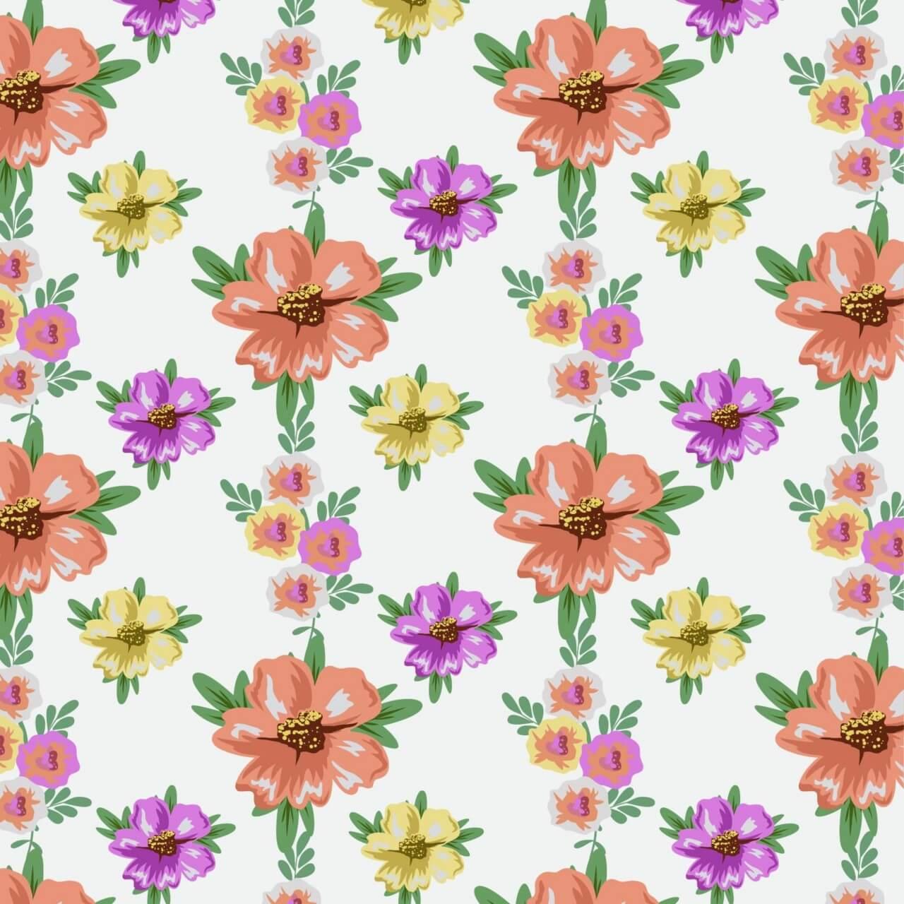 "Free vector ""Flower illustration"""