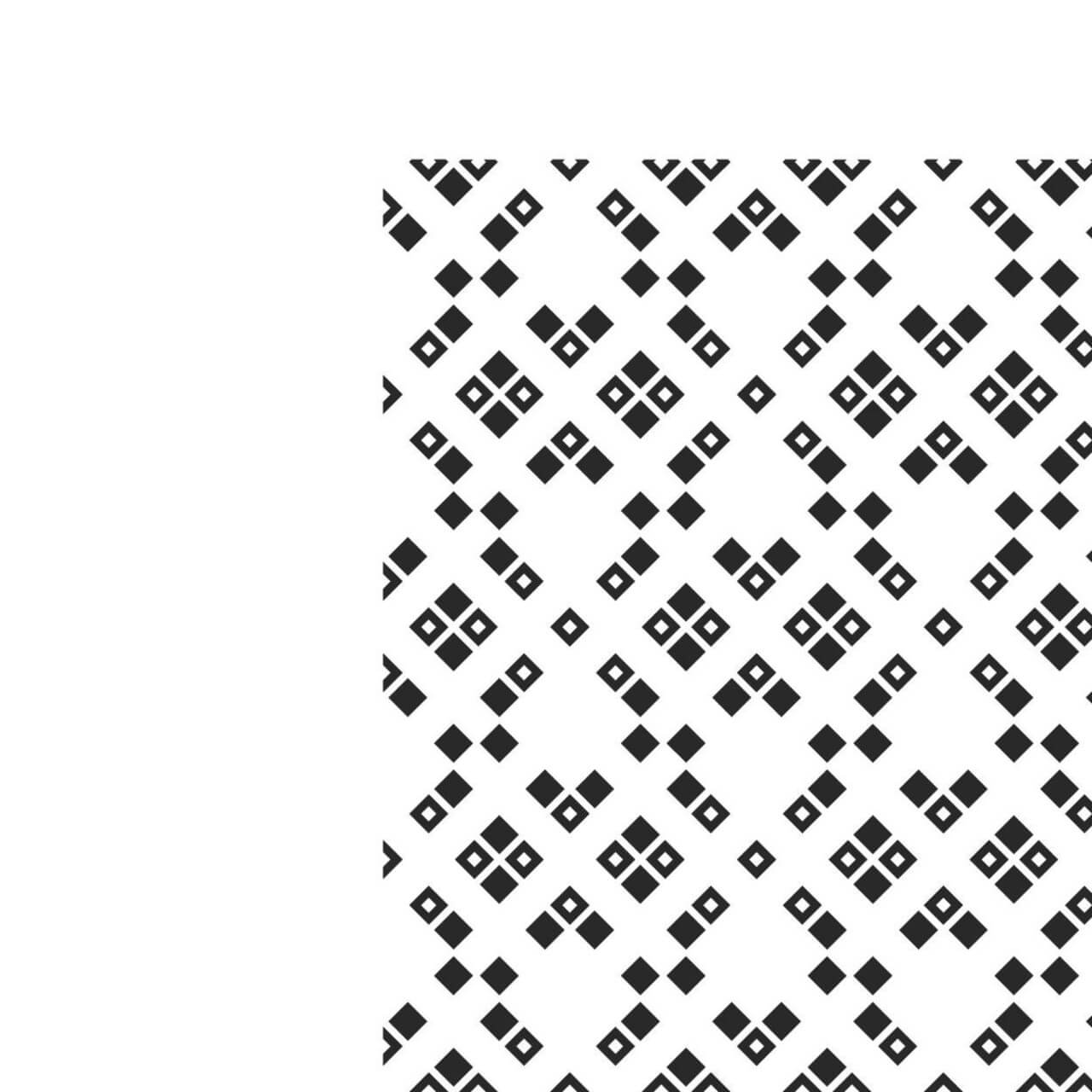 "Free vector ""Black and White Squared Pattern"""