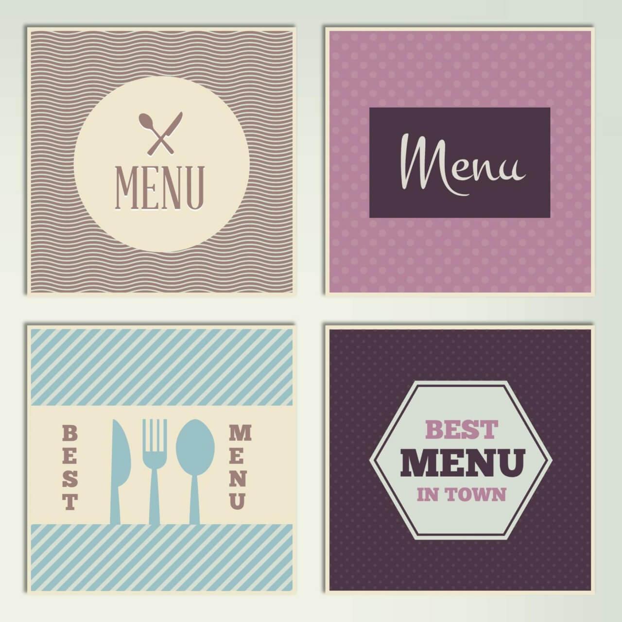 "Free vector ""Restaurant Menus"""
