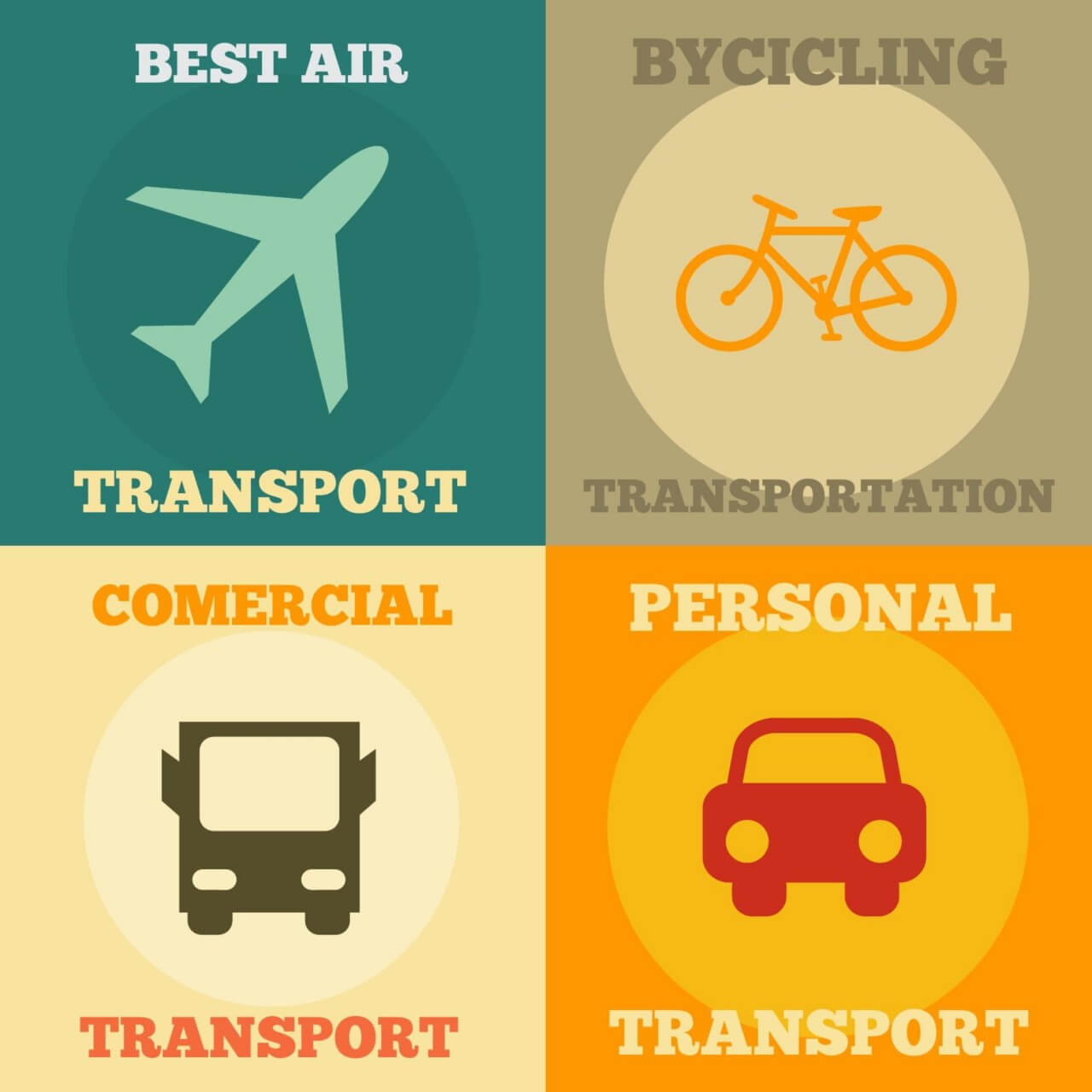 "Free vector ""Transport Icons Set"""
