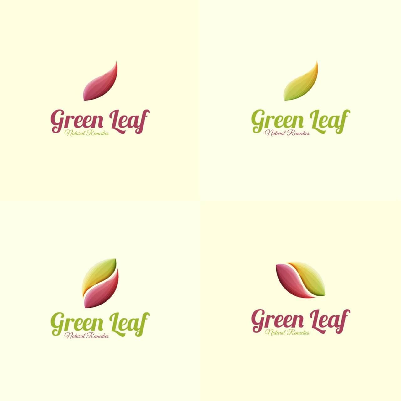 "Free vector ""Leaf Logo"""