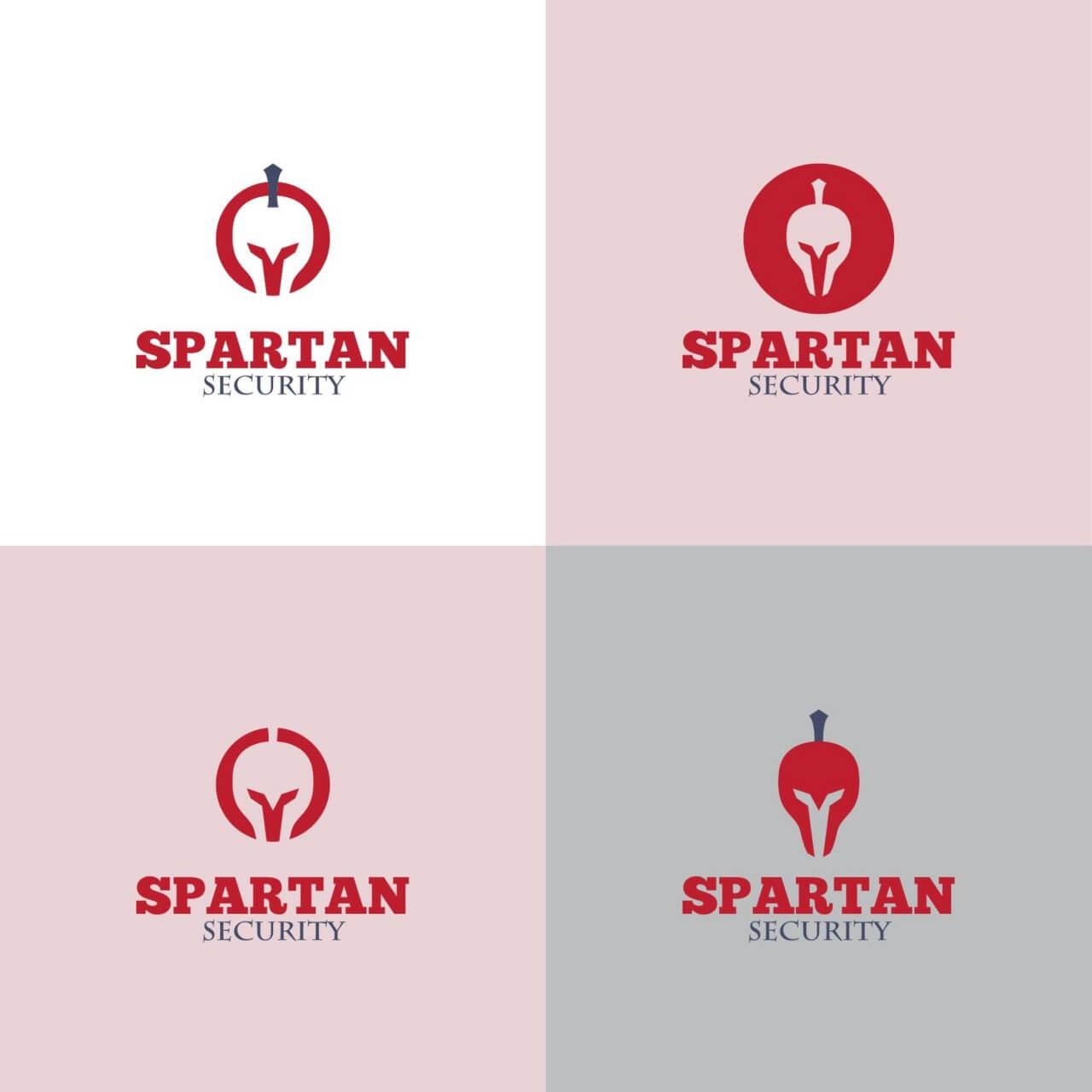 """Free vector """"Spartan Logo"""""""