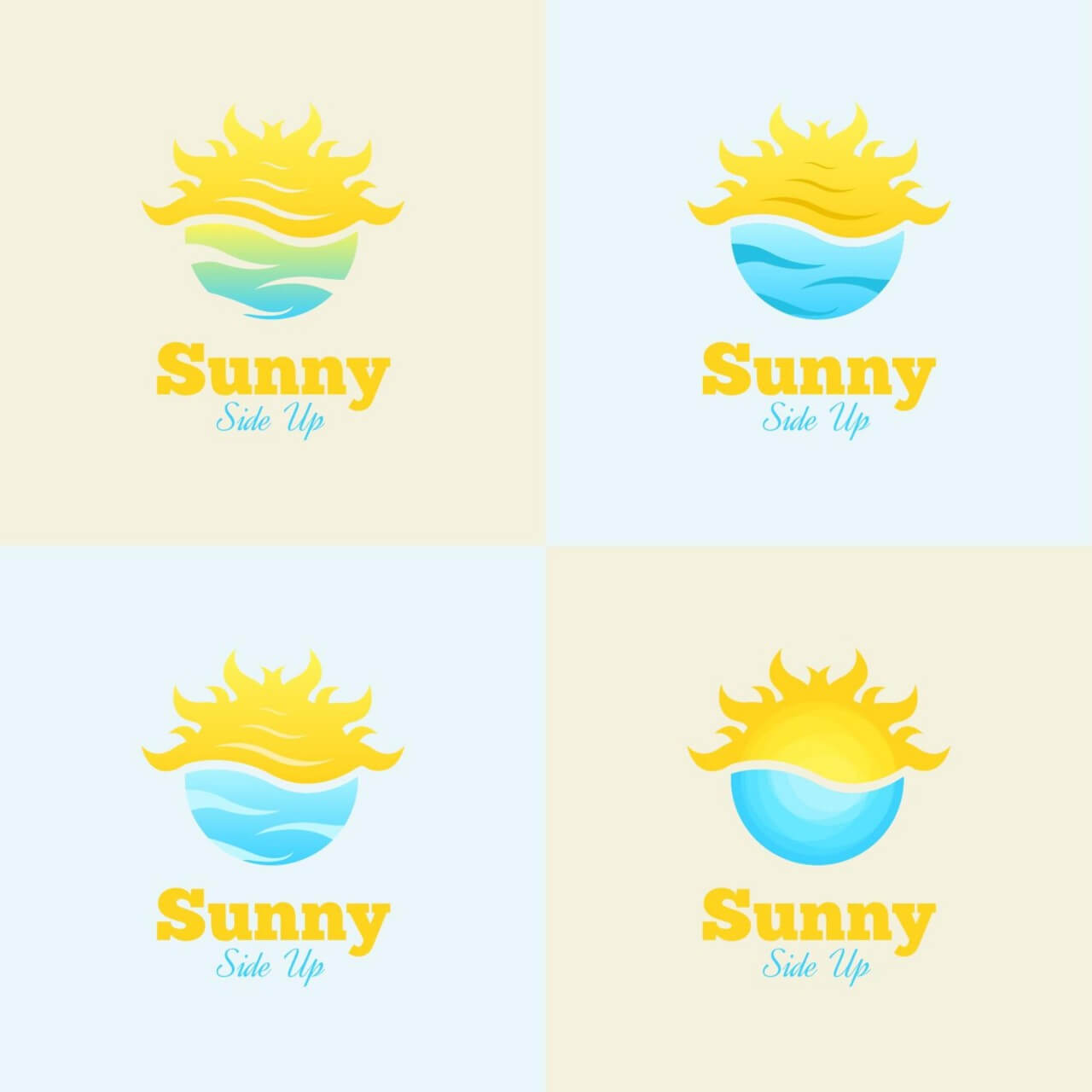 "Free vector ""Sunny Side Up Logo"""