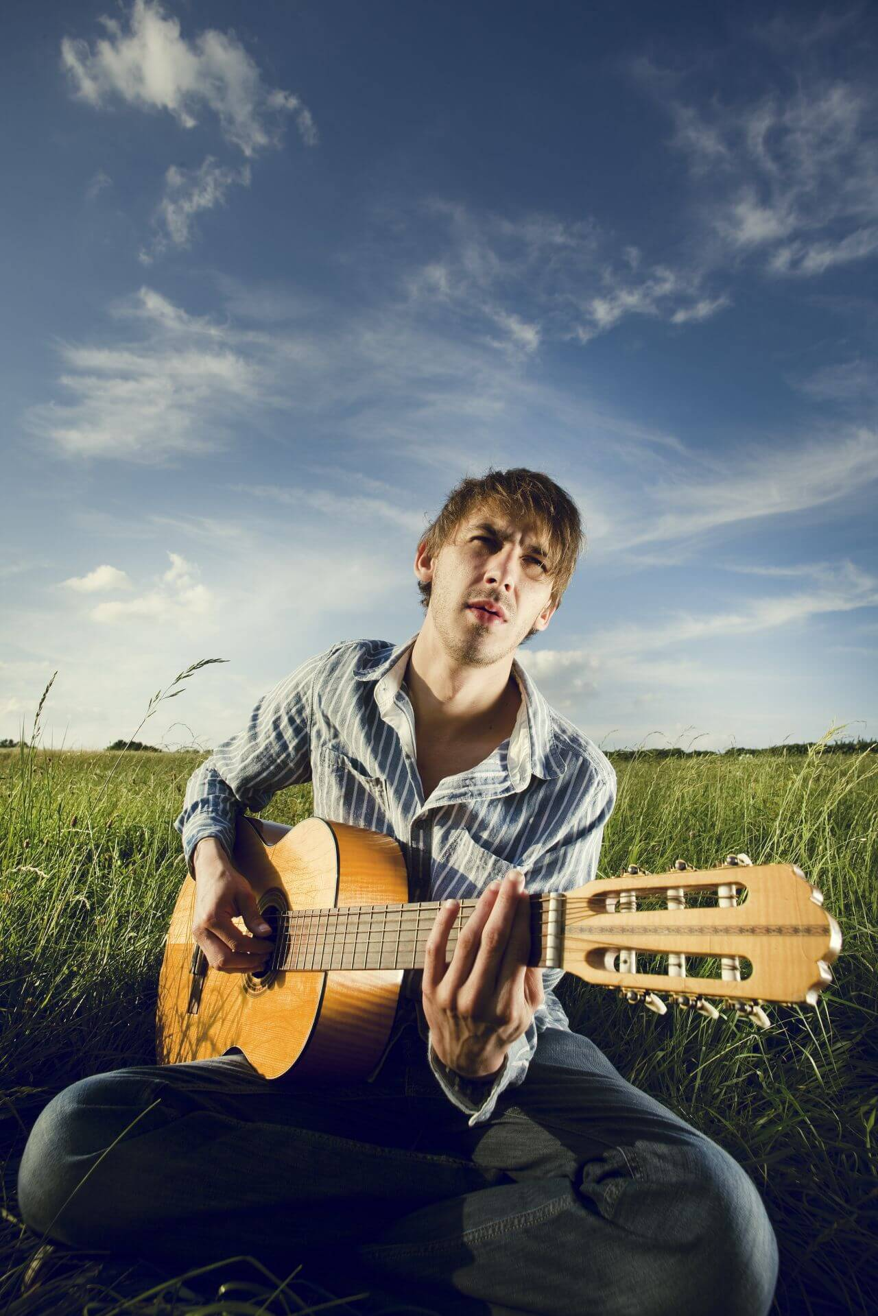 """Free photo """"Acoustic guitar"""" by Andreas"""
