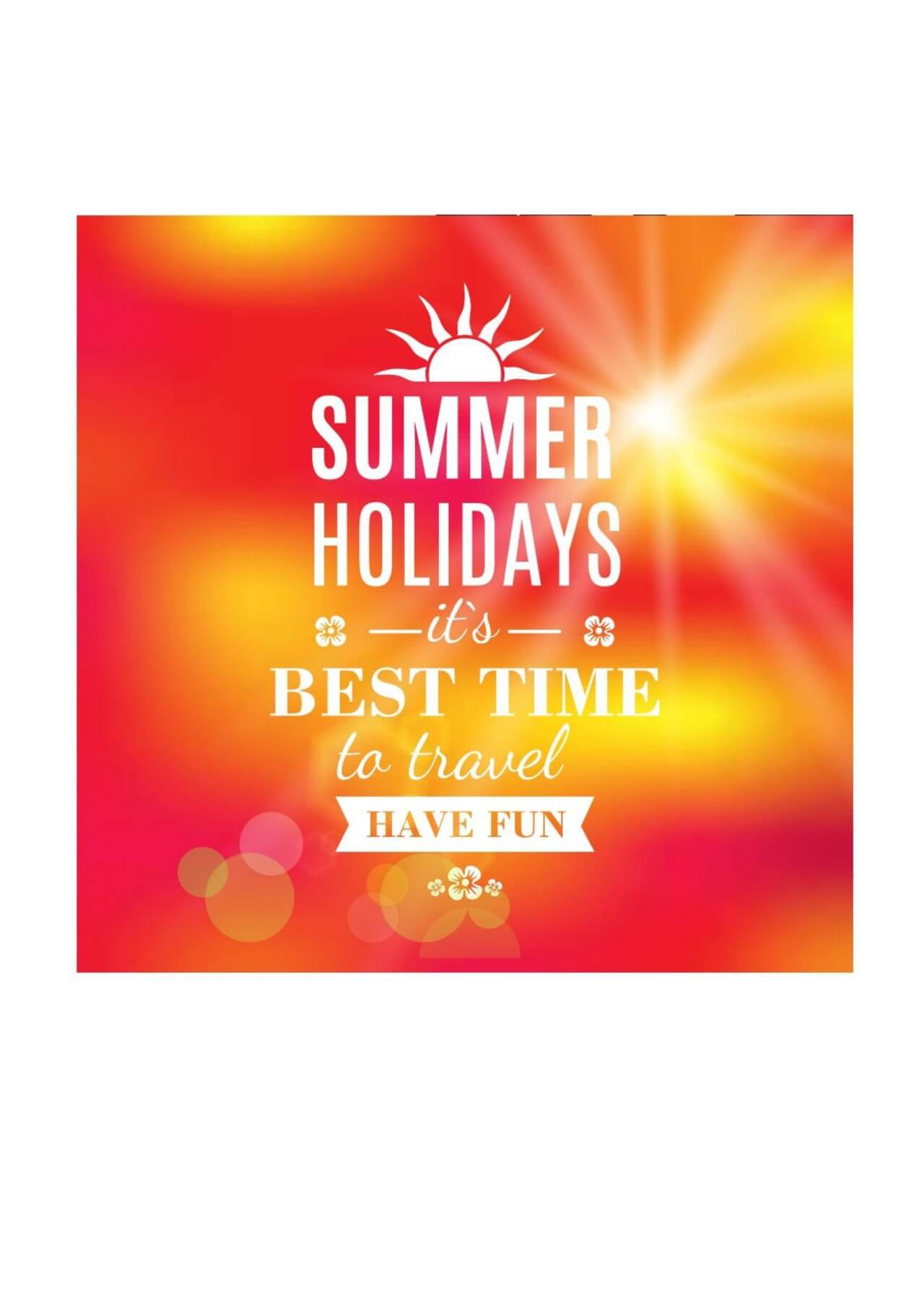 "Free vector ""Summer holidays texture for summer sale."""