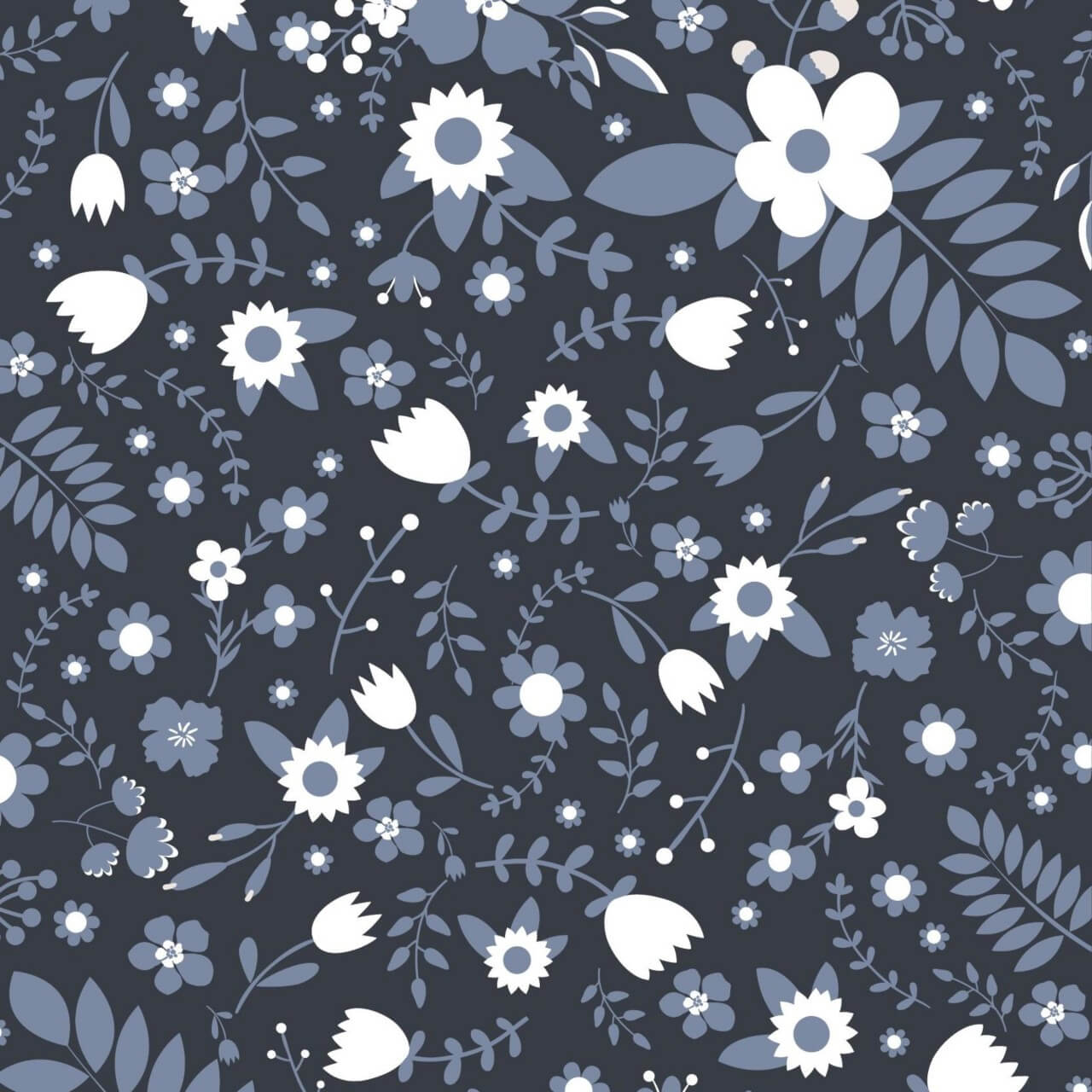 "Free vector ""Floral vector pattern"""