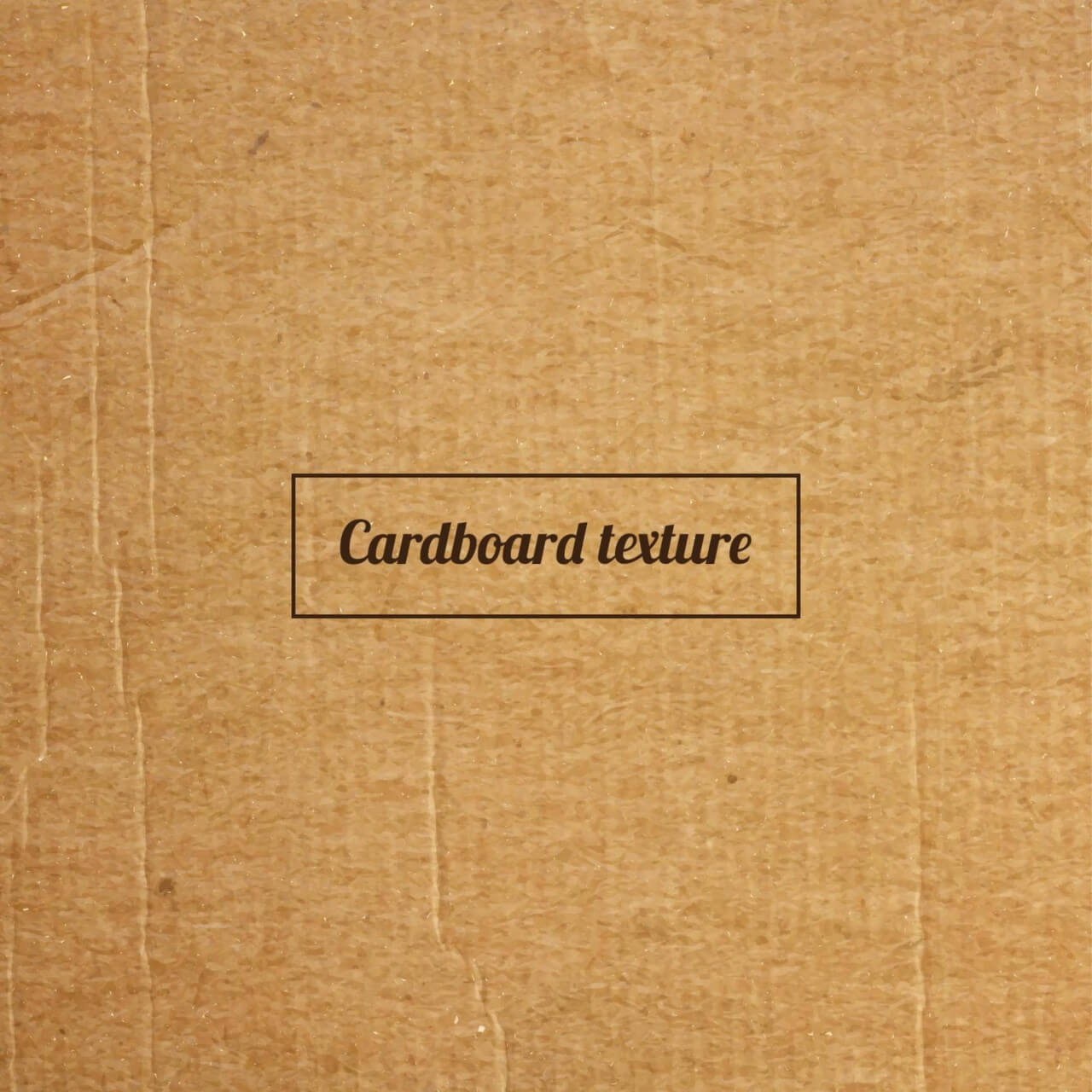 "Free vector ""Cardboard texture or background"""