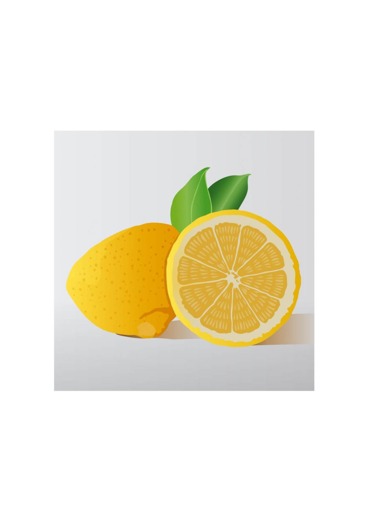 "Free vector ""Citron"""