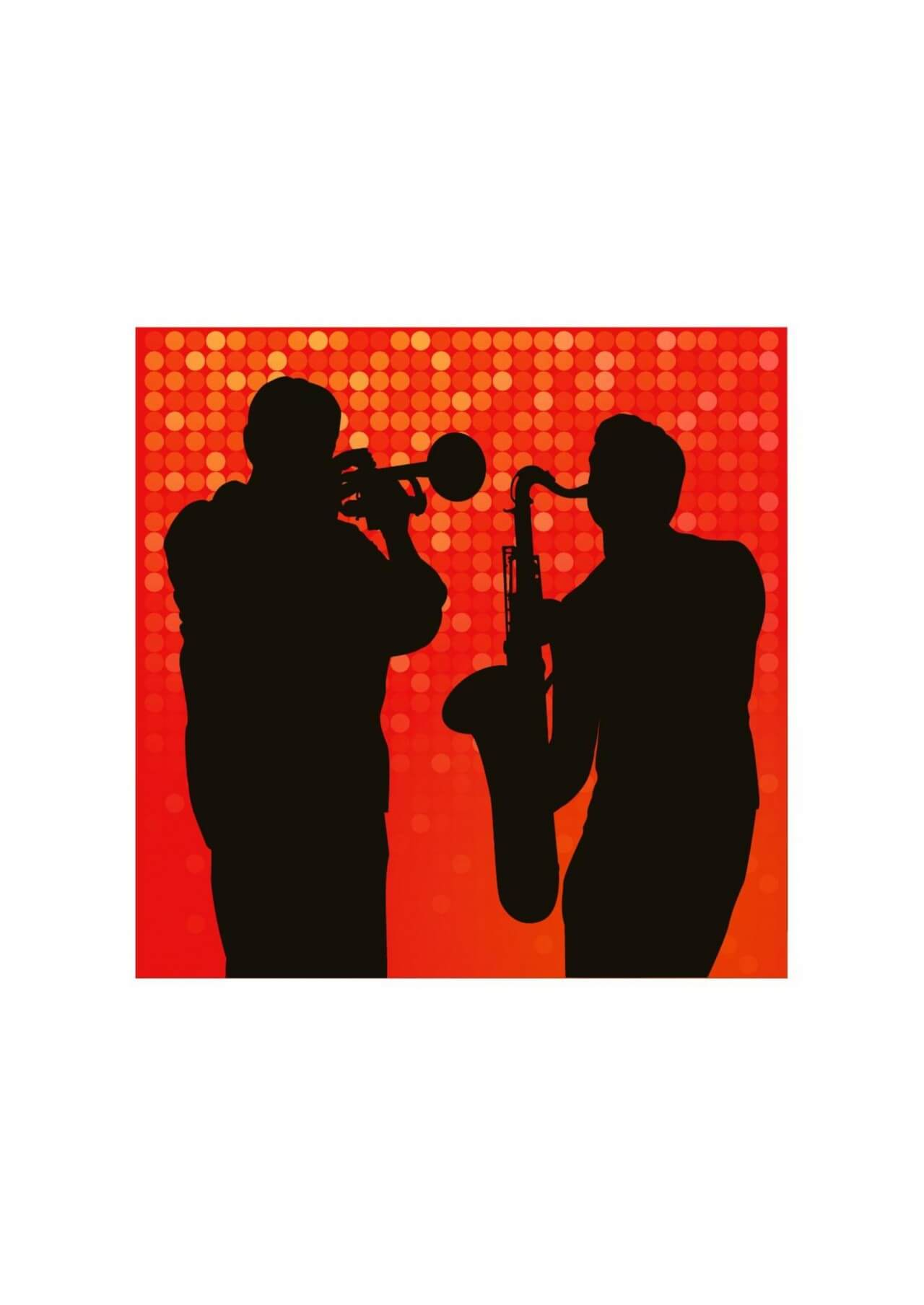 """Free vector """"Jazz session"""""""