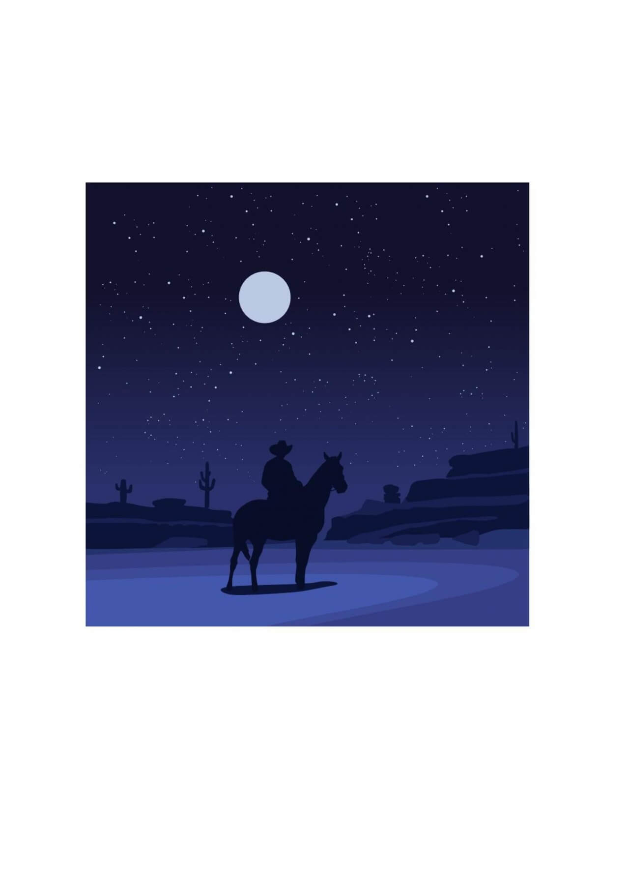 "Free vector ""The lone ranger"""