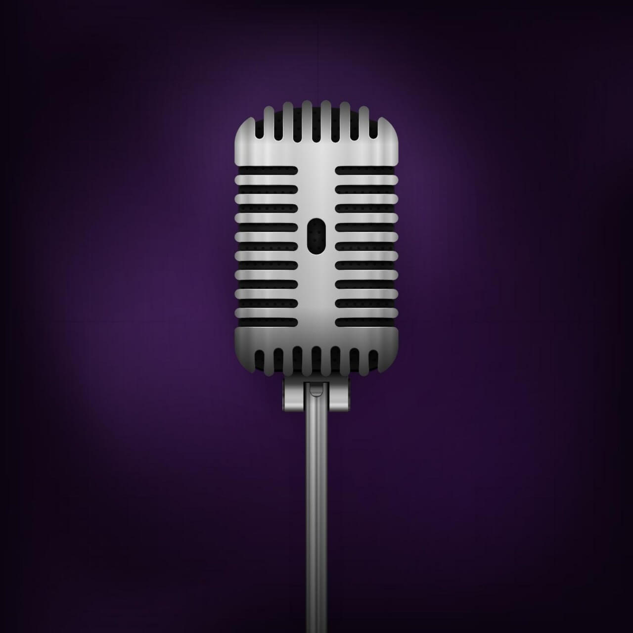 "Free vector ""Retro Vector Microphone"""