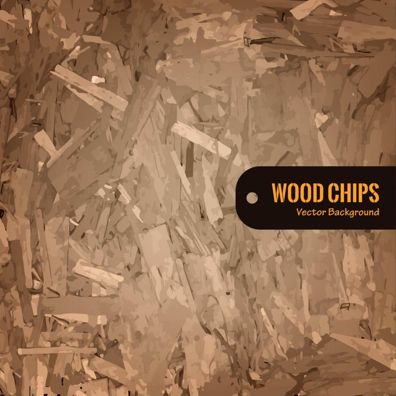 "Free vector ""Wood Chips Vector Background"""