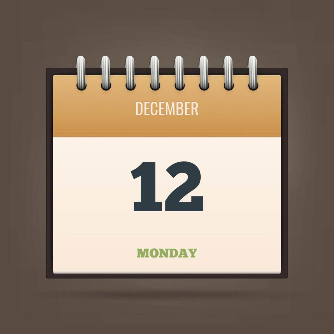 "Free vector ""Detailed Vector Calendar Icon"""