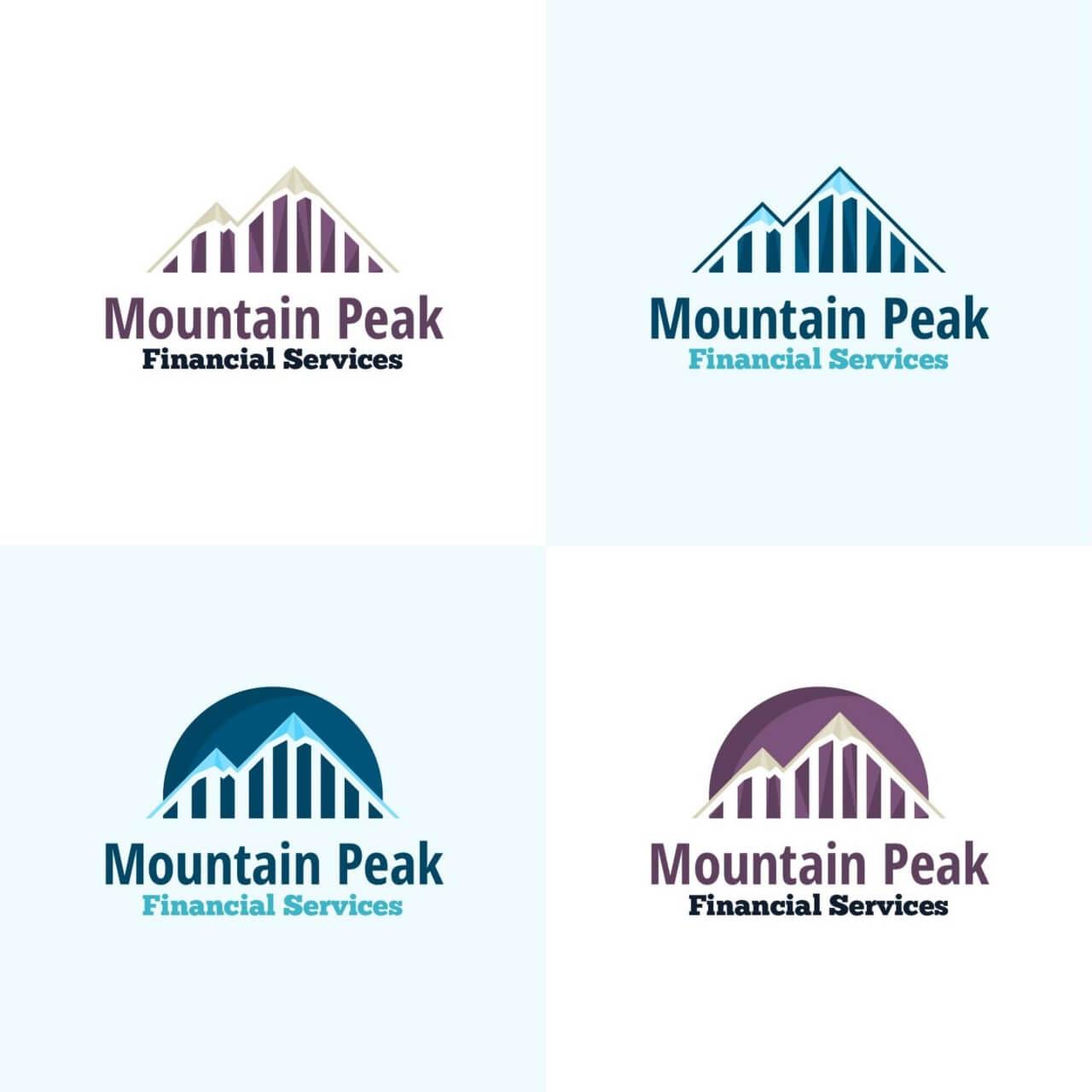 "Free vector ""Mountain Peak Vector Logo"""