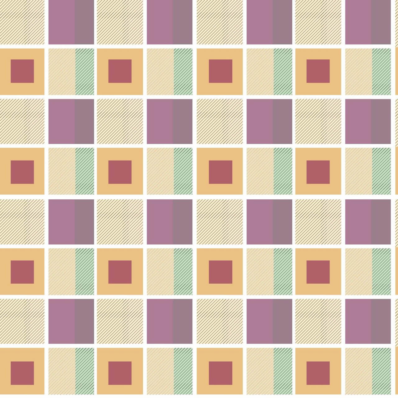 "Free vector ""Geometric plaid background"""